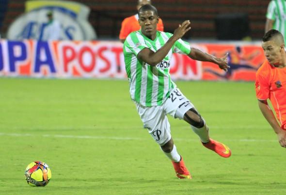 Orlando Berrío - atacante Atlético Nacional-COL (Foto: Divulgação)