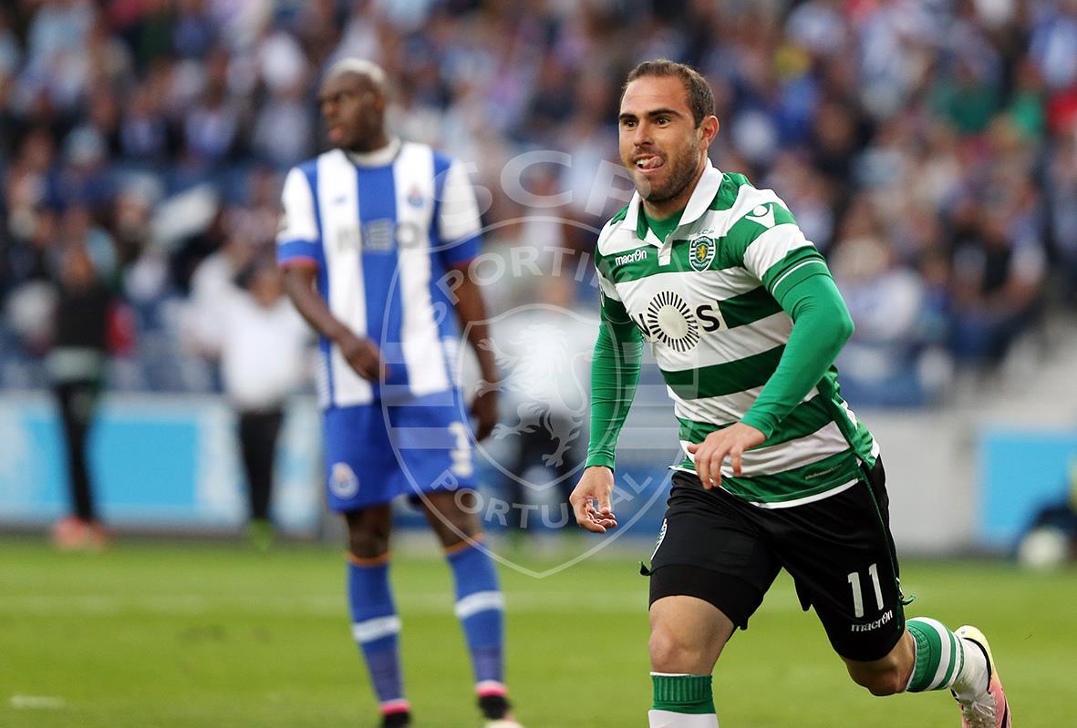 Bruno César fez o terceiro gol do Sporting