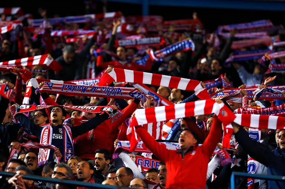 atletico madrid torcida Em Munique, o Bayern supera o Atlético de Madrid   mas fica sem a vaga na decisão da Champions League de 2015/2016...