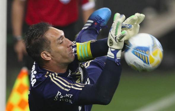 Prass foi o heroi do Palmeiras na decisão por pênaltis em itaquera. Foto: César Greco