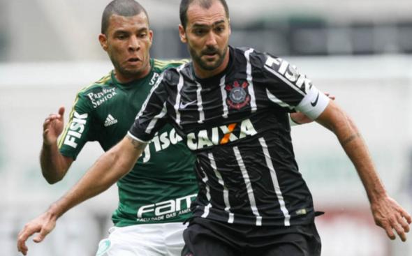 Danilo fez o gol da vitória do Timão no Allianz Parque, pelo Paulistão. Foto: César Greco