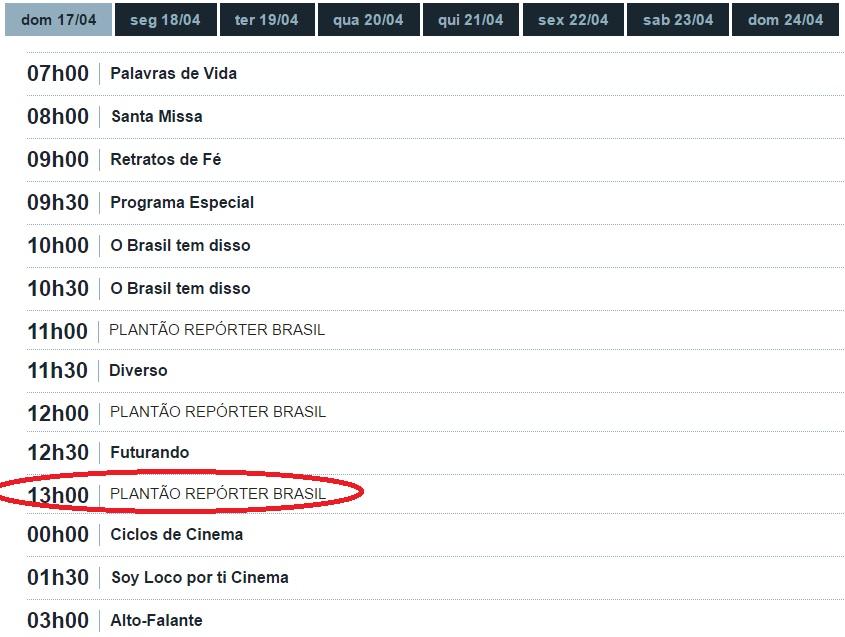 TV Brasil cancelou a transmissão de Rio Preto x Atibaia - Crédito da foto: Reprodução/Site oficial da TV Brasil