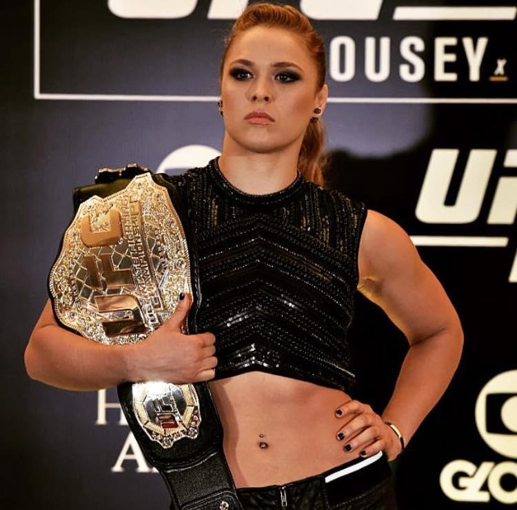 Reprodução/Facebook Oficial Ronda Rousey