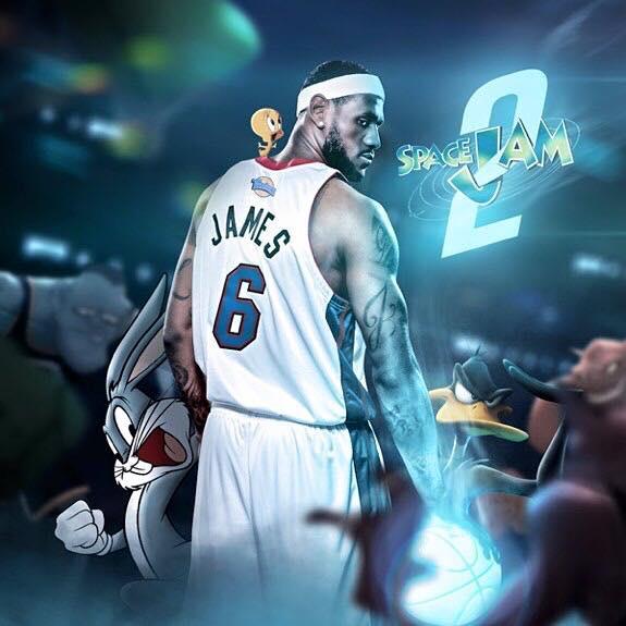 LeBron James deve ser a estrela de Space Jam 2