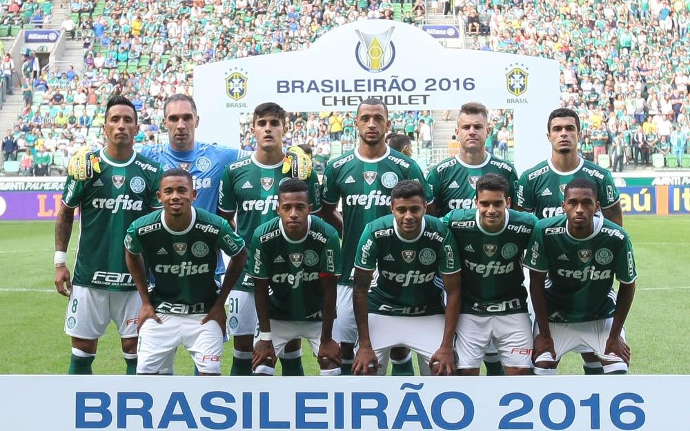 Resultado de imagem para palmeiras campeonato brasileiro 2016 foto