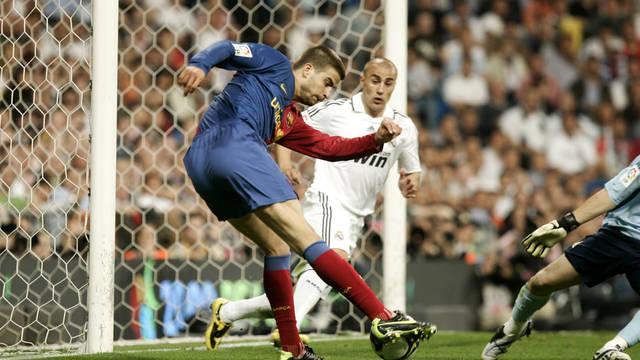 Barcelona goleou o Real Madrid no Santiago Bernabéu