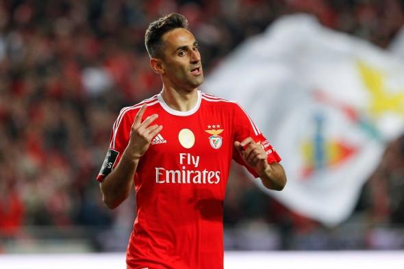 Jonas foi campeão pelo Benfica