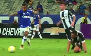 Elber fez um belo gol Brasileirão