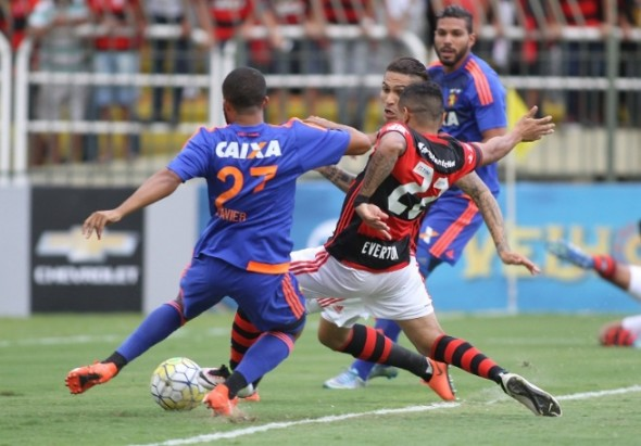 Everton marcou o gol do Flamengo - Foto: Gilvan de Souza/Flamengo