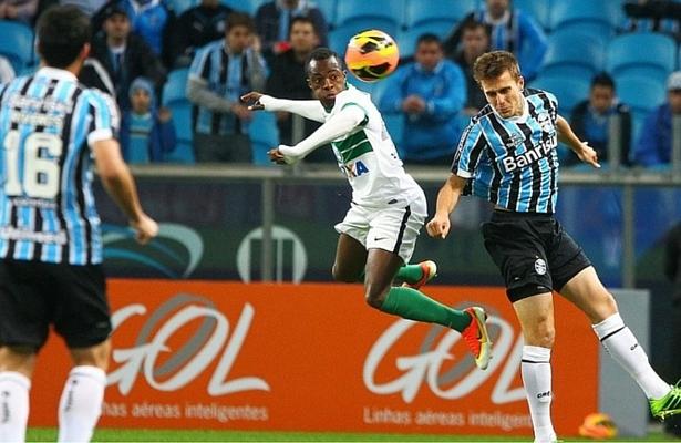 Grêmio x Coritiba placar AO VIVO