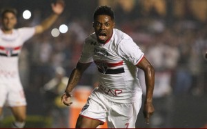 Michel Bastos, meia do São Paulo