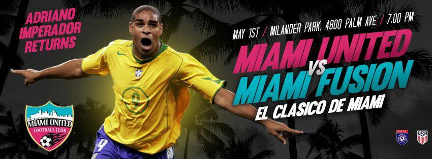 Miami United x Miami Fusion - Adriano Imperador