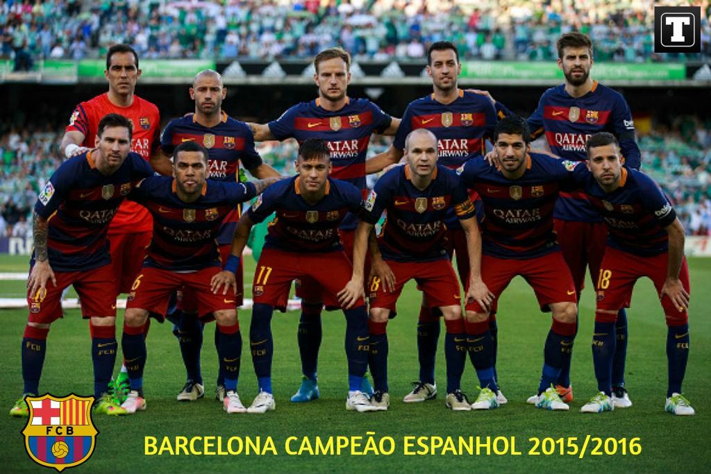 Barcelona é campeão espanhol! Baixe o pôster especial do título ... bff9f028b9193