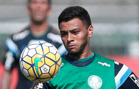 Cleiton Xavier é a grande aposta de Paulo Nobre e de Cuca na armação do Palmeiras. Foto: César Greco