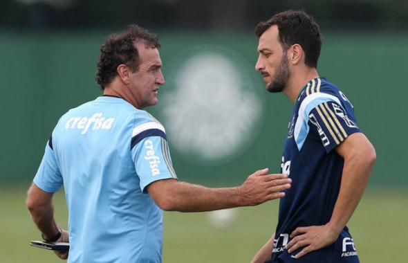 Edu Dracena teve chances com Cuca, porém nova lesão o tirou de cena no Palmeiras. Foto: César Greco
