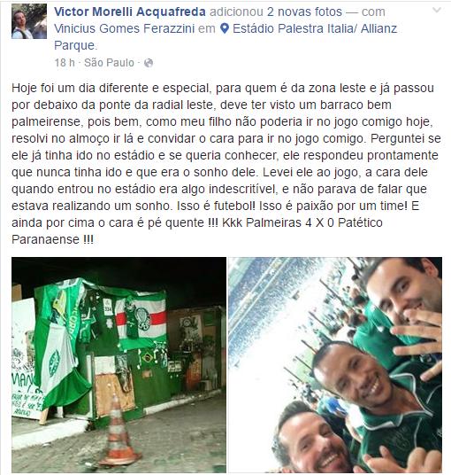 Foto: Divulgação/Facebook