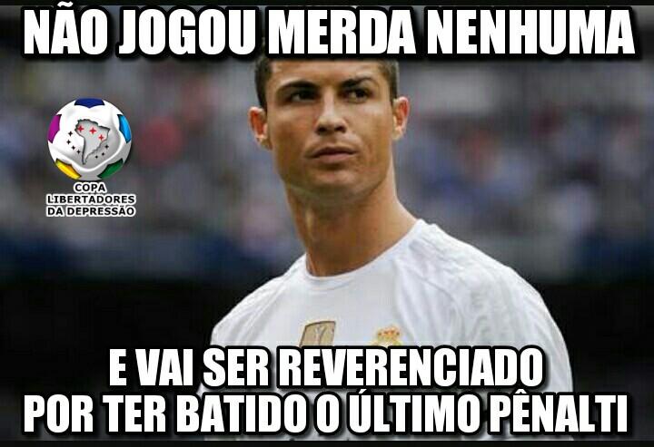 Cristiano Ronaldo é cornetado na web