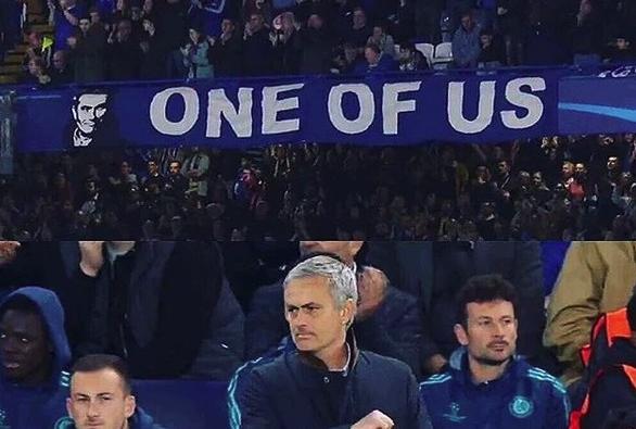 Mourinho é (ou era) ídolo do Chelsea e foi para o United
