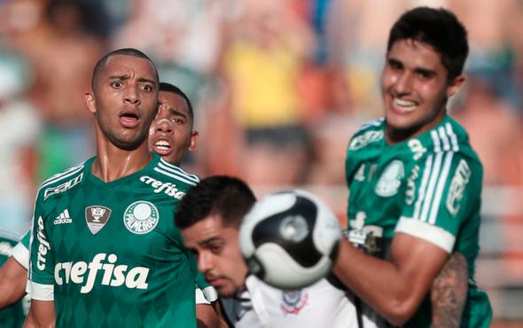 Palmeiras tem o Corinthians em casa na sequência pelo Brasileirão. Foto: César Greco/Ag. Palmeiras