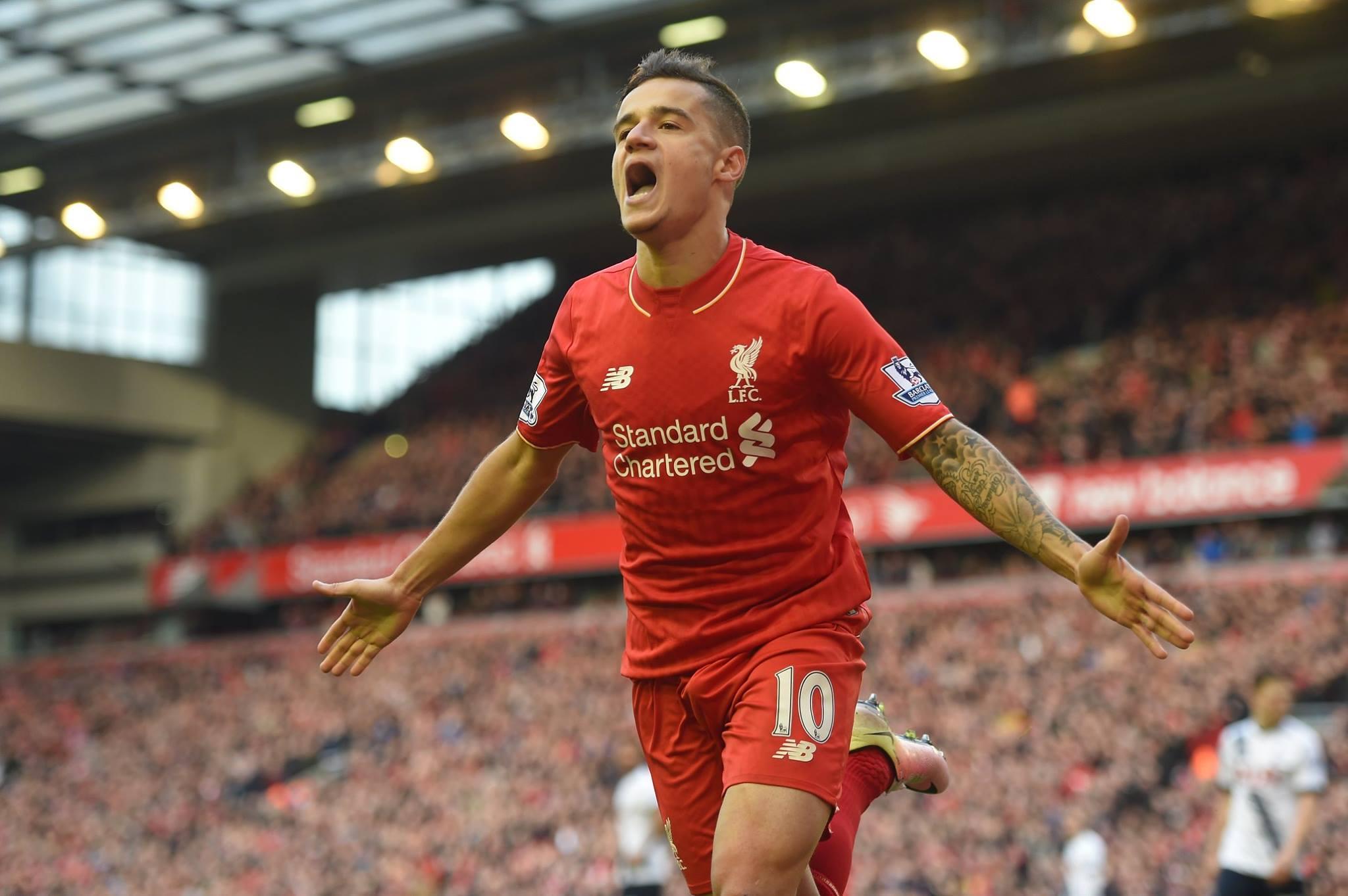 OFICIAL: Coutinho renova contrato com Liverpool