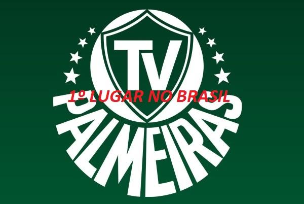 Logo tv palmeiras 1 lugar