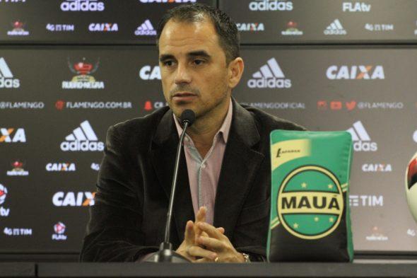 Rodrigo Caetano - Foto: Gilvan de Souza/Flamengo