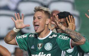 Róger Guedes, atacante do Palmeiras
