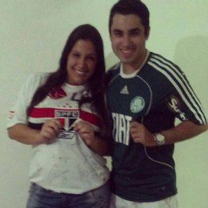 Fernanda e Thiago choque-rei dia dos namorados