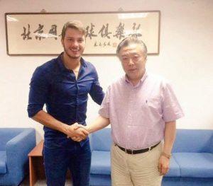 Divulgação/Twitter Oficial Beijing Gouan_Kleber