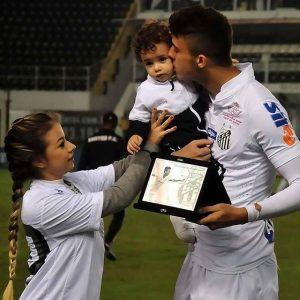 Crédito da foto: Reprodução\ Instagram do Santos Futebol Clube