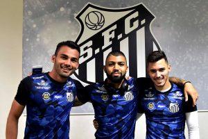 Crédito da foto: Reprodução/Facebook oficial Santos Futebol Clube