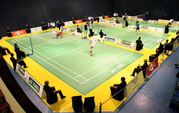 Quadra de Badminton/ Divulgação/Armando Guimarães)