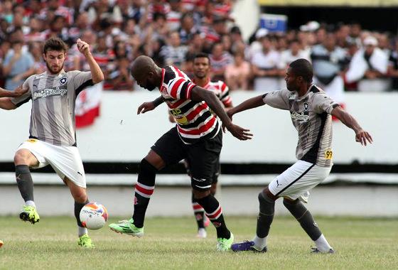 Assistir Santa Cruz x Botafogo ao vivo 19/10/2016