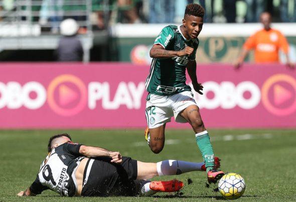 Tchê Tchê é titular incontestável de Cuca no Palmeiras. Crédito: Cesar Greco/Ag Palmeiras/Divulgação