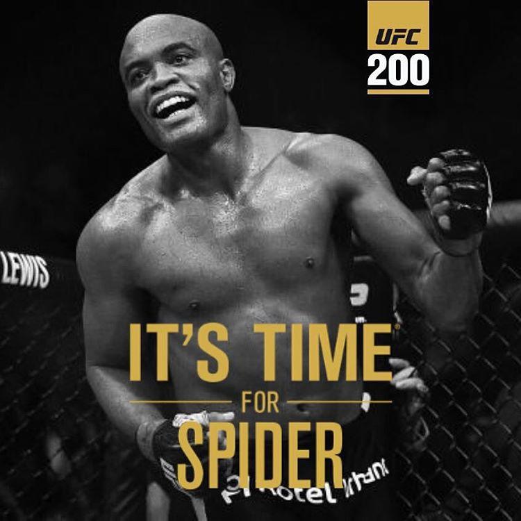 AO VIVO UFC 200 Anderson Silva ao Vivo Hoje