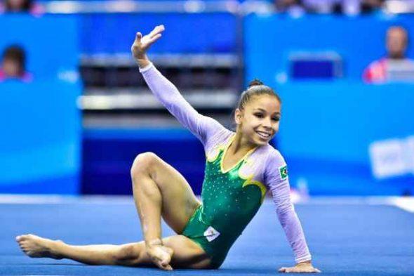 Atleta brasileira Flávia Saraiva_COB_Divulgação
