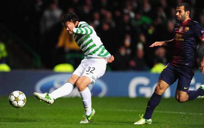Barcelona x Celtic
