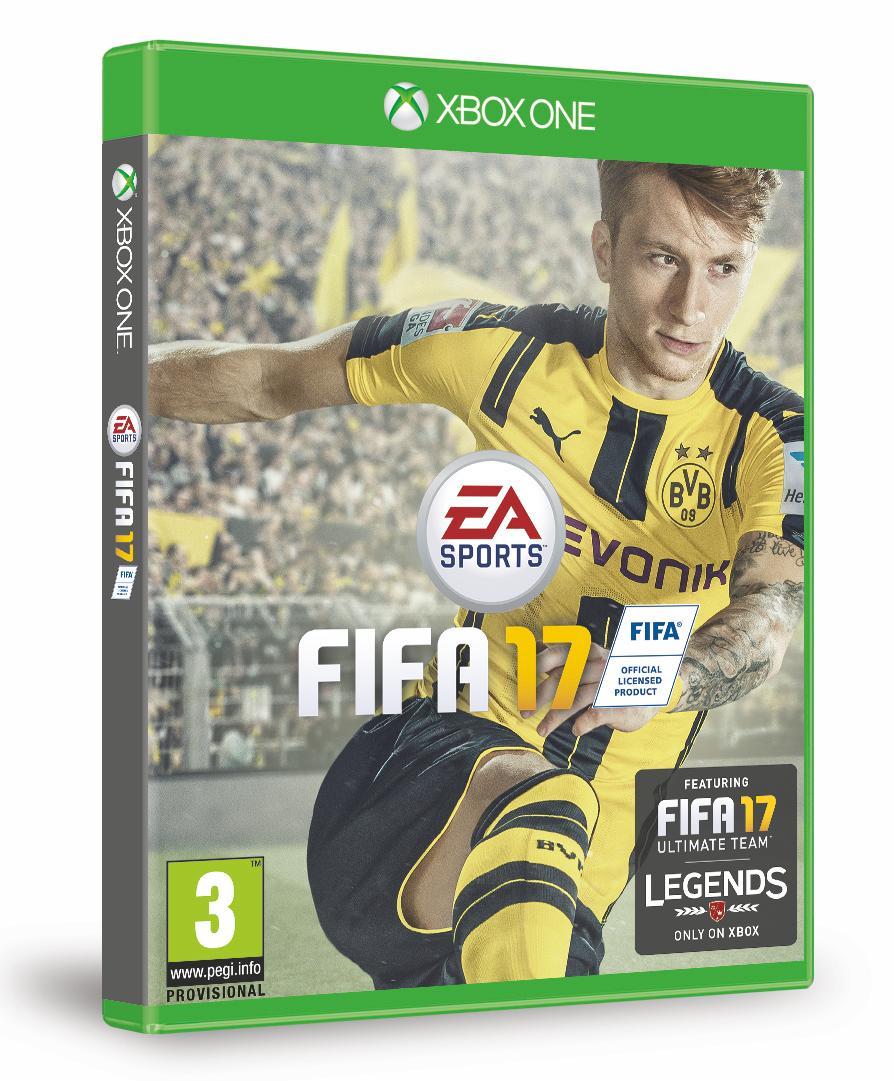 Marco Reus será astro da capa do jogo Fifa 17