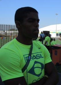 (Foto: David Abramvezt) Bruno Mendonça é o atacante da equipe