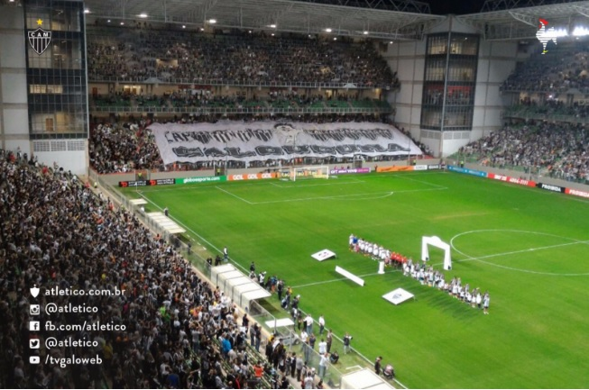 Resultado de imagem para Atlético-MG x Palmeiras torcida