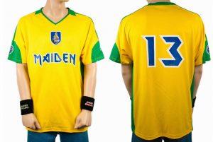 Camisas Futebol Iron Maiden (Foto: IronMaiden666)