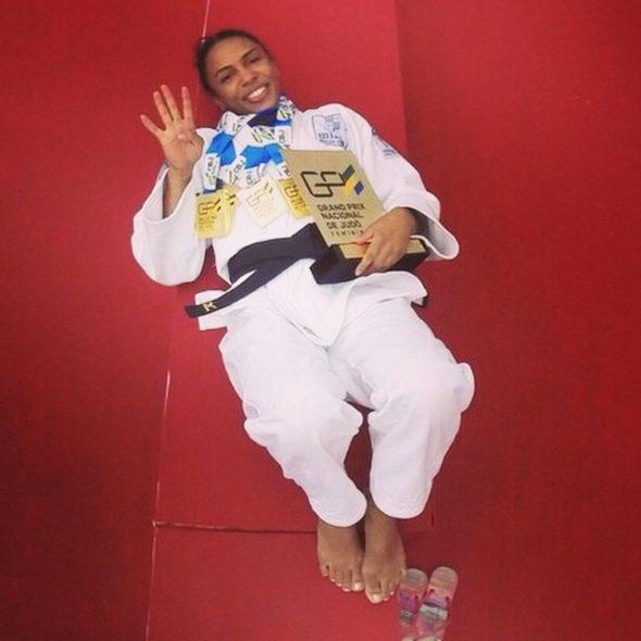 judo erika miranda