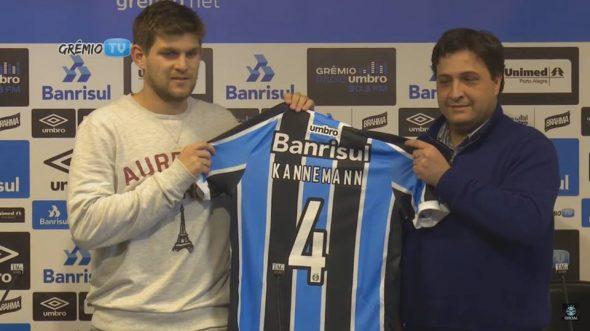 Foto: Reprodução/ Youtube: GrêmioTV - canal do Grêmio