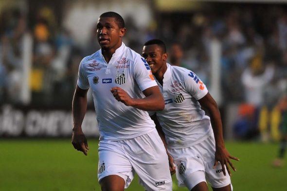 Palmeiras x Santos - Rodrigão e Copete