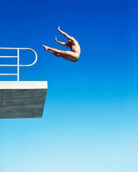 Greg Louganis, considerado um dos melhores atletas da história dos saltos ornamentais, nos dias de hoje. Crédito: reprodução facebook