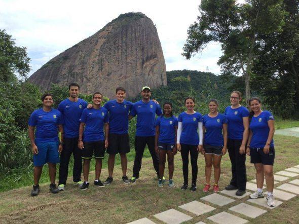 tiro com arco brasil equipe