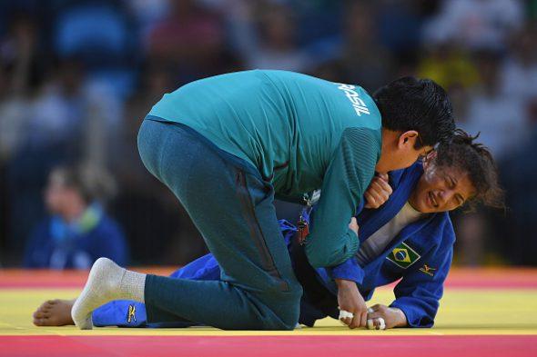 Sarah Menezes era esperança de medalha no judô. Foto: Getty Images