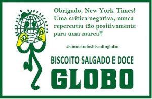 biscoito globo new york times