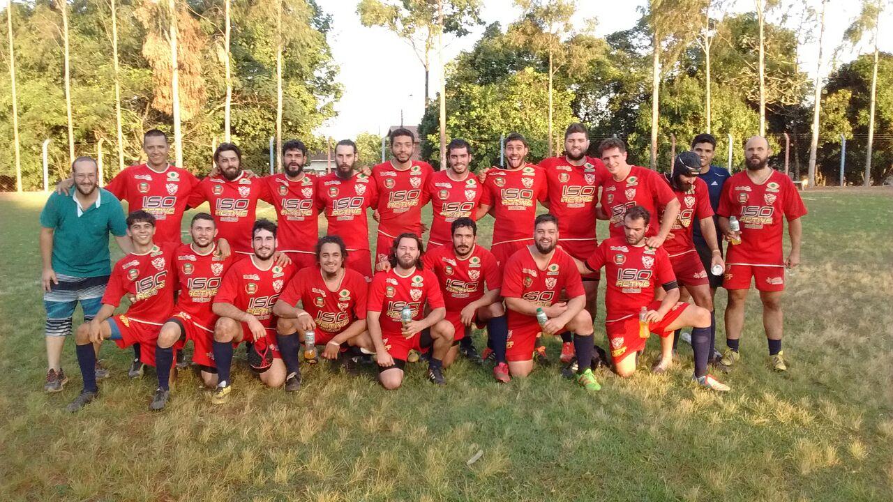 Equipe do Rio Preto Rugby - Foto Divulgação Pagina Rio Preto Rugby