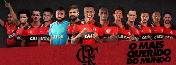 Crédito da foto: Facebook oficial do Flamengo
